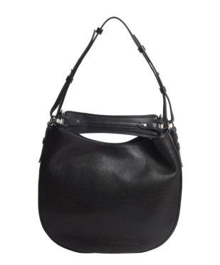 Givenchy Black Leather 'Obsedia' Medium Hobo Shoulder Bag $1290 Bluefly