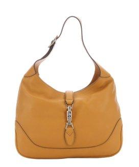 Gucci Mustard Leather 'Jackie' Shoulder Bag $997 Bluefly