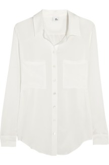 Iris and Ink silk blouse $87 Outnet
