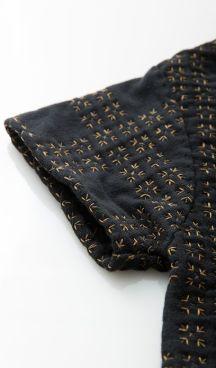 a chanin stitch jacket