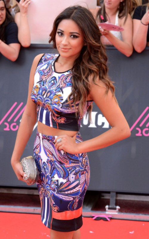2013 MuchMusic Video Awards at MuchMusic HQ - Arrivals Featuring: Shay Mitchell Where: Toronto, Ontario, Canada When: 16 Jun 2013 Credit: WENN.com