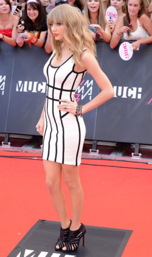 2013 MuchMusic Video Awards at MuchMusic HQ - Arrivals Featuring: Taylor Swift Where: Toronto, Ontario, Canada When: 16 Jun 2013 Credit: WENN.com