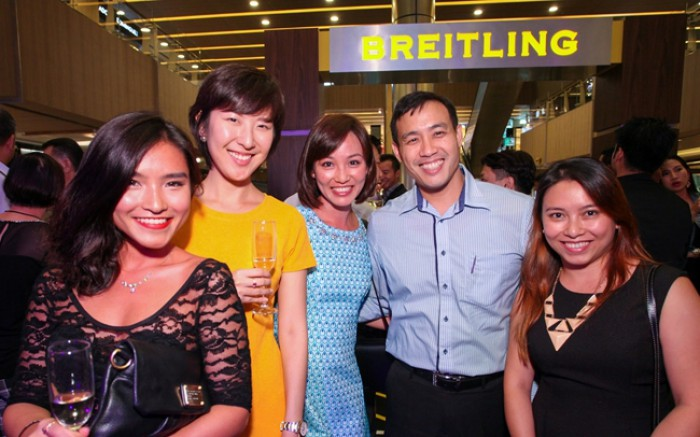 WTFSG_breitling-chronomat-30th-anni-exhibition_Sophie-Mong_Airin-Lee_Mong-Mei-Nah_Chang-Chia-Howe_Felicia-Mong