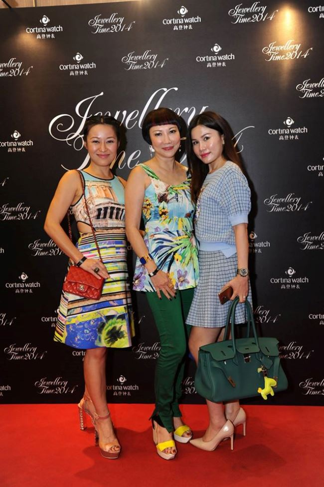 WTFSG_jewellery-time-2014-official-opening-party_Nina-Ng_Frances-Low_Jilly-Wang