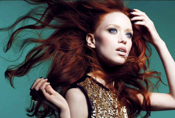 8 Famous Models With Red Hair