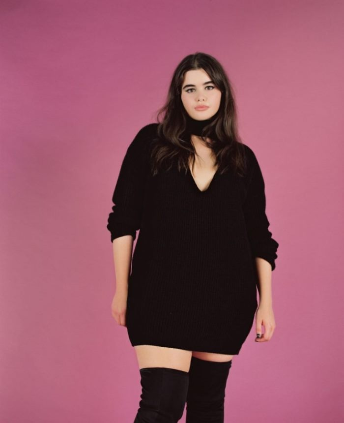 Barbie Ferreira Poses Without Photoshop for Missguided+ ...