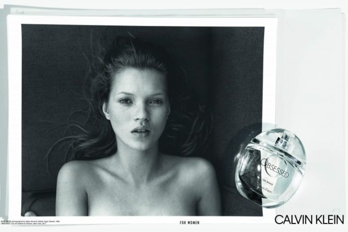 A Young Kate Moss Stars in Calvin Klein 'Obsessed ...