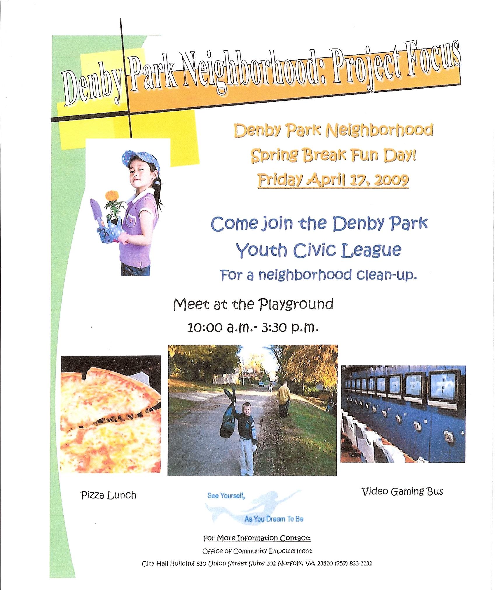 Denby Park Spring Fun Day