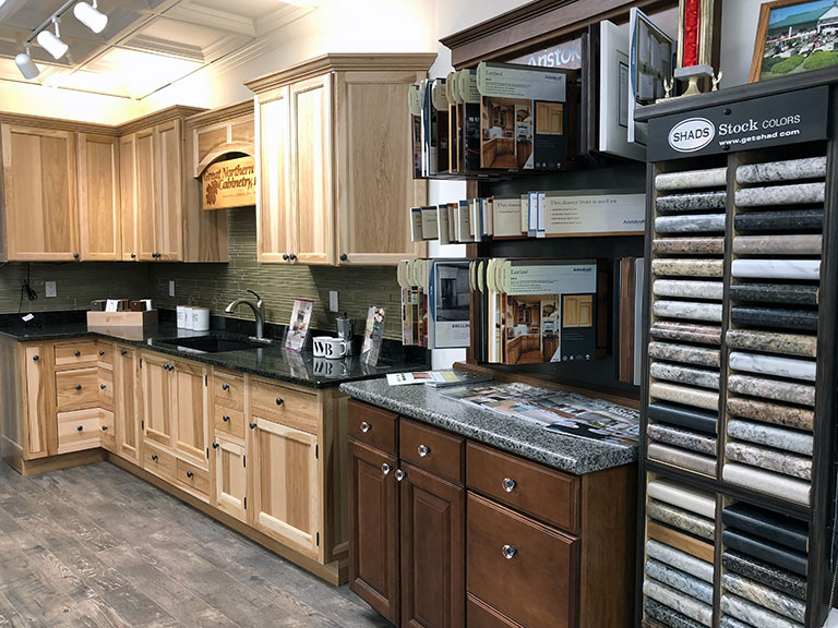 bath and kitchen instock cabinets ware bulter inc maine lumber yard building supplies bathroom cabinetry windows doors roofing tools hardware locations in