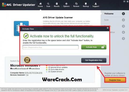 AVG Driver Updater Registration Key
