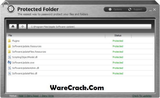 iObit Protected Folder 1.3 Crack