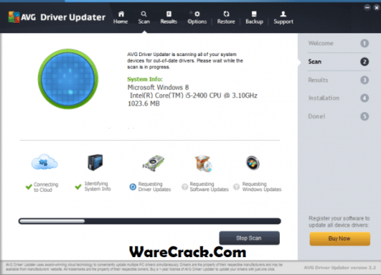 AVG Driver Updater Crack 2019