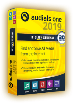 Audials One 2019 Crack