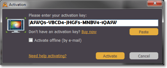 Movavi Screen Capture Studio Activation Key