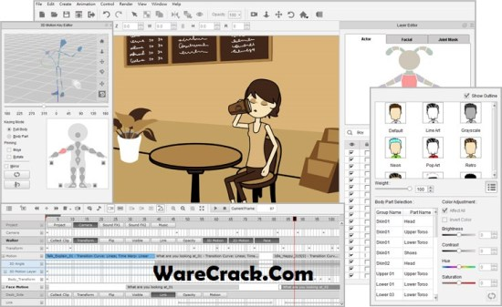 CrazyTalk Animator 4 Serial Key
