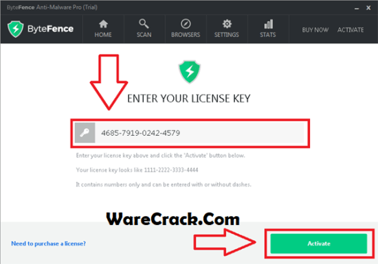 ByteFence Anti-Malware Pro License Key