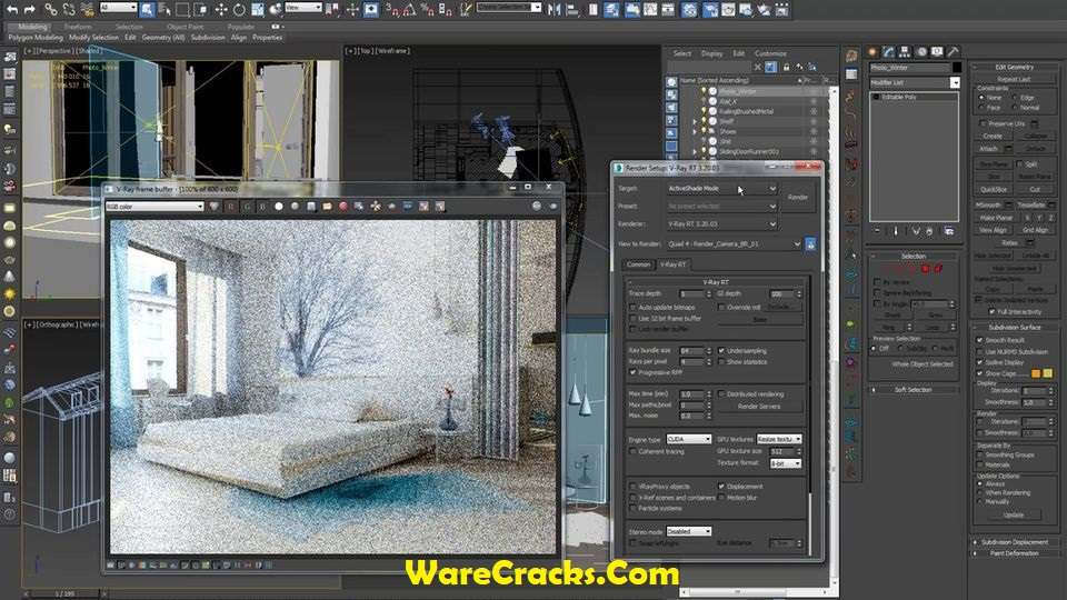 Best Renderer vray Interior in 3ds max +setting+download