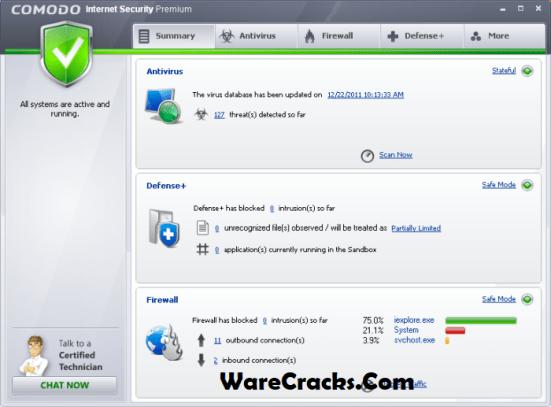 Comodo Internet Security Serial Key