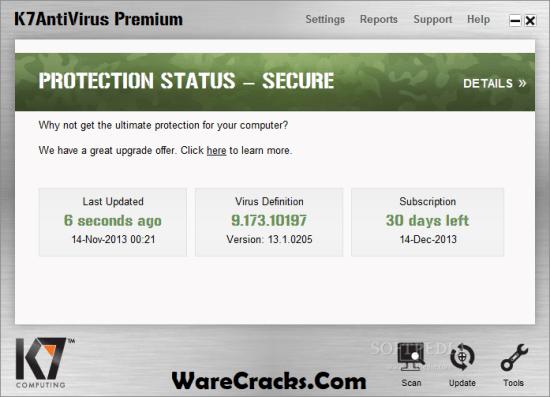 K7 Antivirus Premium Activation Code