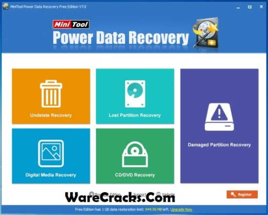 MiniTool Power Data Recovery 8.7 License Key