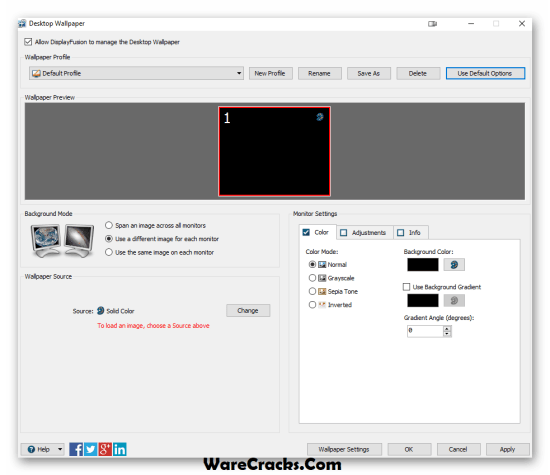 DisplayFusion Pro Crack With License Key Download