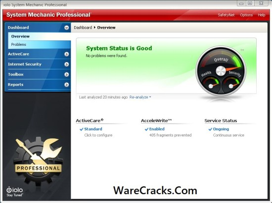 System Mechanic Pro Crack With Serial Key Download