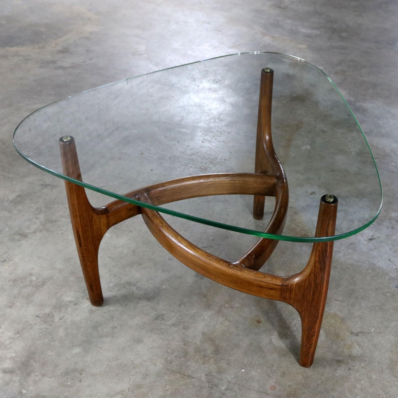 adrian pearsall style triangular glass