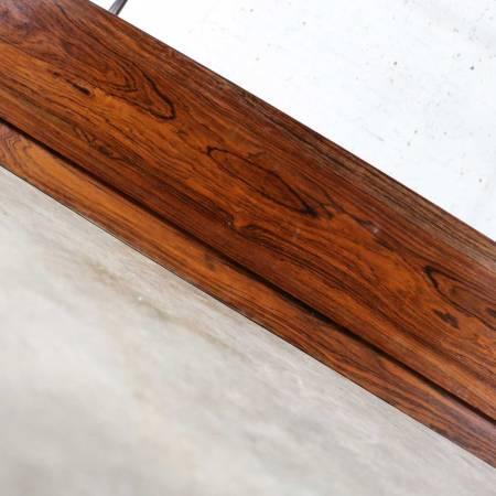 Arne Hovmand-Olsen Rosewood Canopy Full-Size Bed Mid Century Scandinavian Modern