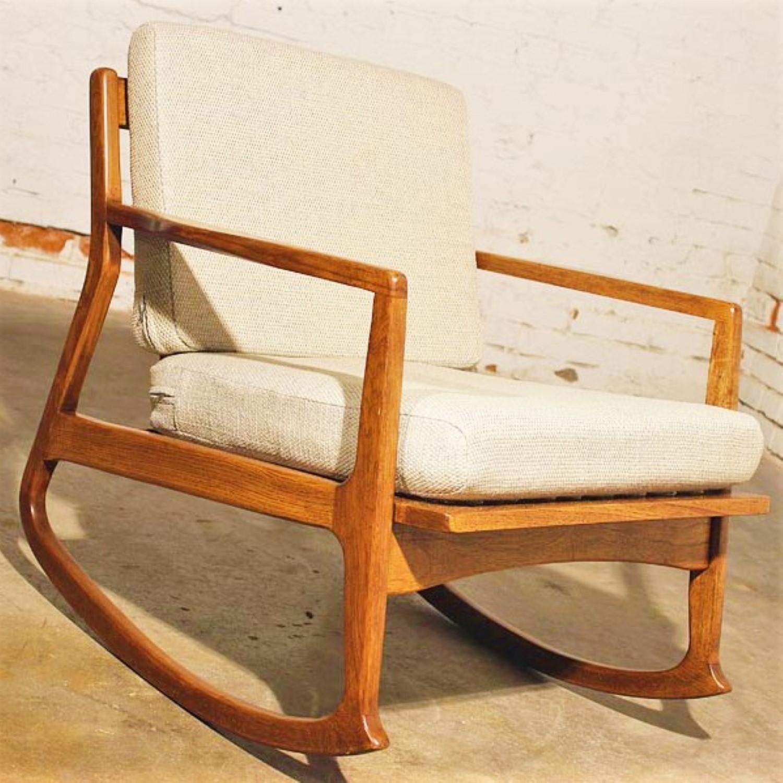 Danish Modern Teak Rocking Chair Warehouse 414