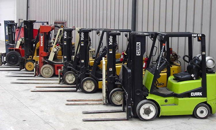 Used Forklifts in Arizona