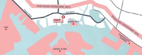 Cogent 1 Logistics Hub map location