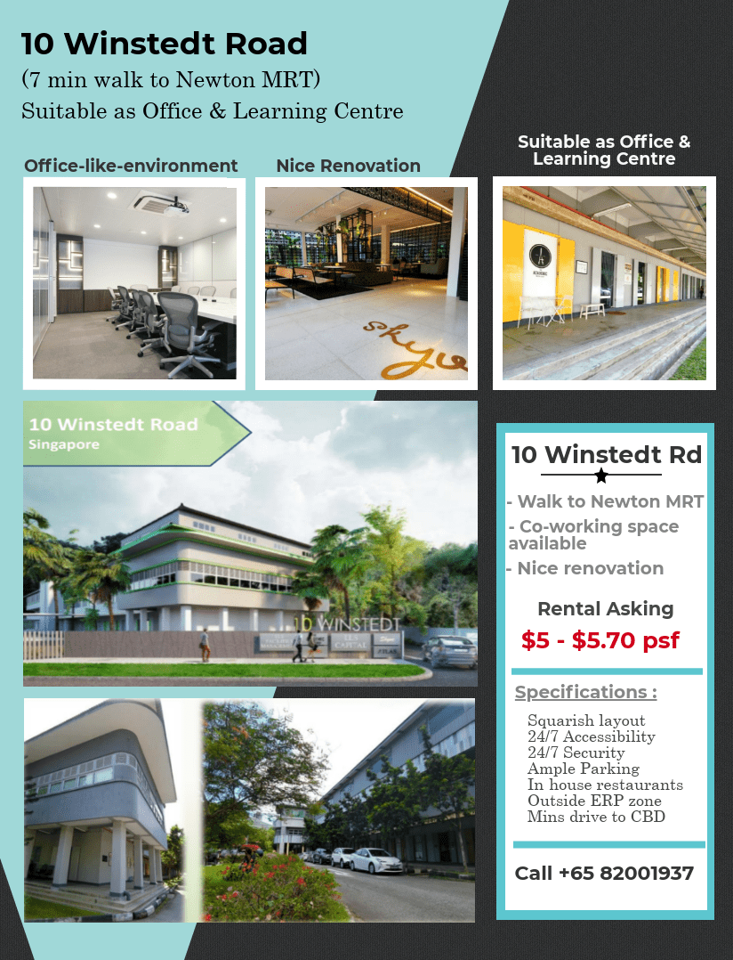 Commercial office space for rent at Newton