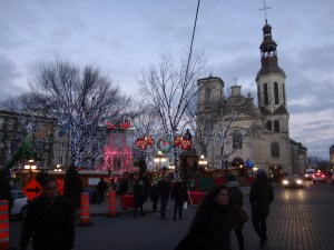 Old Quebec City Christmas Market.Can T Make It To Europe For The Famous Christmas Markets