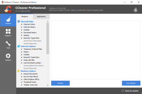CCleaner Pro 5 57 7182 Crack Plus License Key Full Free Download