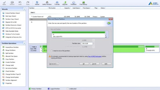 AOMEI Partition Assistant Licence Key