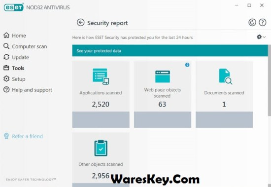 ESET NOD32 Antivirus Serial Key 2020