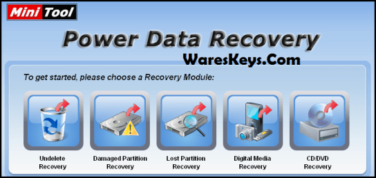 MiniTool Power Data Recovery 8 1 1 Crack & License Key Free