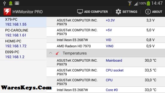 CPUID HWMonitor Pro Serial Key