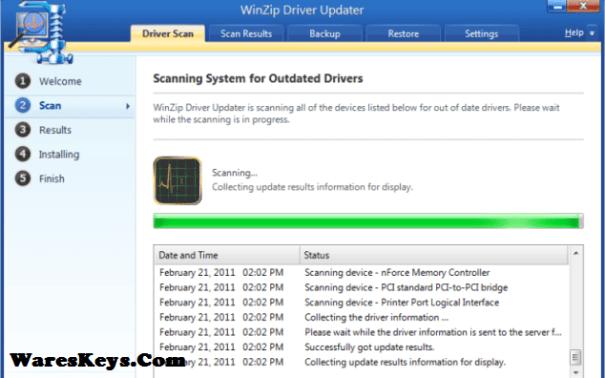 WinZip Driver Updater Key