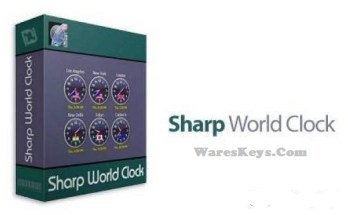 Sharp World Clock License Key