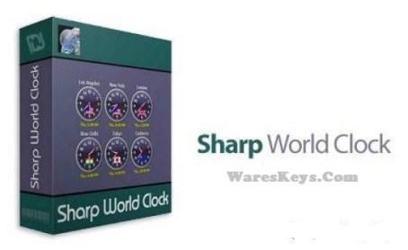 Sharp World Clock License Key
