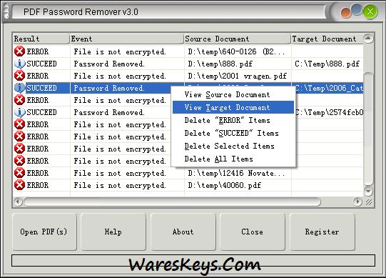 Mgosoft PDF Password Remover Keygen