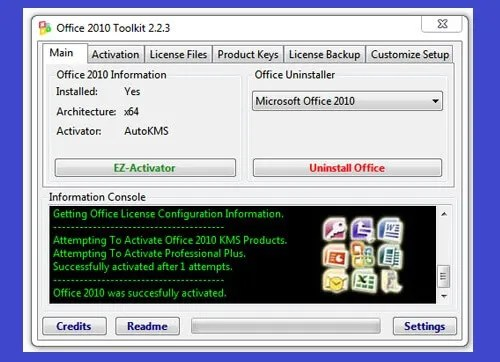 Microsoft Office 2010 Professional Activator plus keygen Full Version Free Download