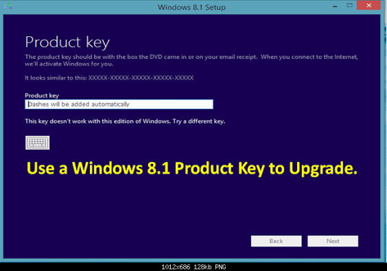 windows 8 1 download with product key