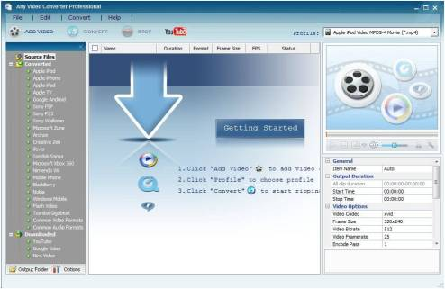 any video converter license code