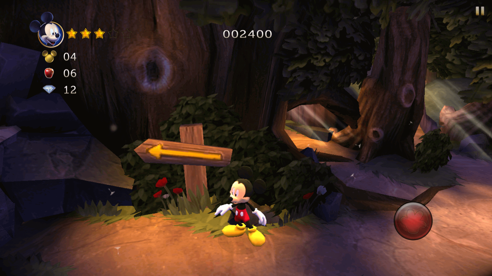 Castle of Illusion Starring Mickey Mouse is a 2.5D platform game developed by Sega Studios Australia and published by Sega.