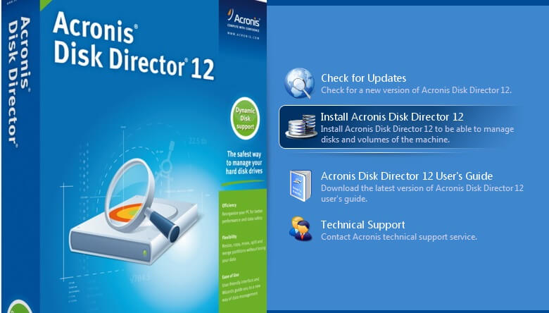 acronis disk director 12 key