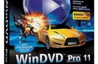 Corel WinDVD Pro 11 Crack + Activation Code Free Download