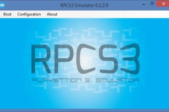 RPCS3 PS3 Emulator 2015 with BIOS Free Download Full Version