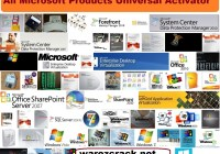 All Microsoft Products Universal Activator Full Free Download